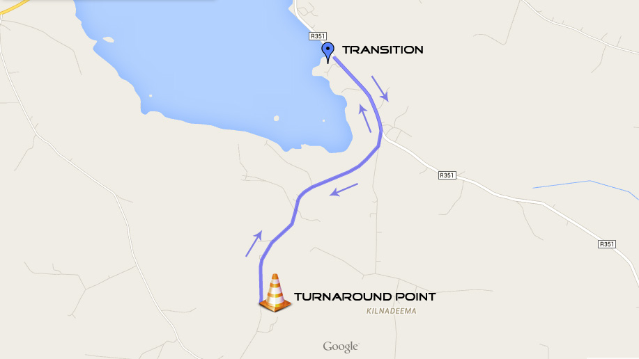 Loughrea Sprint Triathlon - Run Course